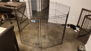 Excellent Condition Petmate Exercise Pen with Single Door