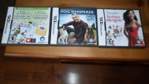 NINTENDO DS GAMES  $9 for all 3