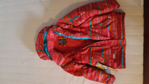 Used Girl's Jupa Ski Jacket Size 8