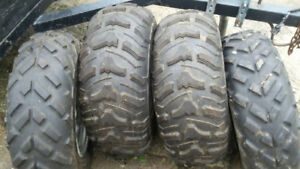 Like New ATV Tires and Rims