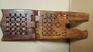 prayer book stand Rehal Rail Wooden Carved
