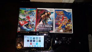 Special Edition Windwaker Wii U Console + Games