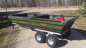 Boat that turns into a Trailer!!!