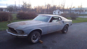1969 MUSTANG MACH 1 428 CI R CODE PROJECT CAR
