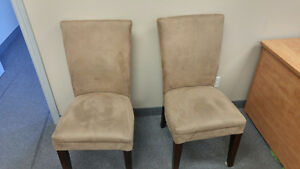 Chairs! Great for waiting room. Or wherever.