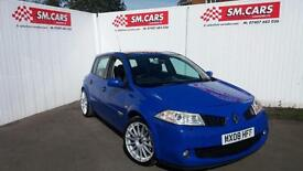 2008 08 RENAULT MEGANE225 2.0T 5DOOR LUX MODEL.STUNNING.FULL SH.TIMING BELT DONE
