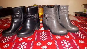 2 Size 6 boots for sale $15/each $25/both