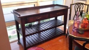 SIDEBOARD SERVER OR ENTERTAINMENT UNIT