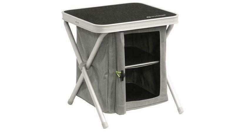 Outwell Cayon Folding Camping Cabinet