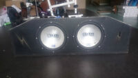clarion subs and amp