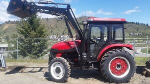 Jinma 74 HP 4X4 tractor - motivated seller