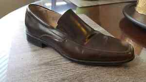 Stacy Adams Brown Genuine Leather Dress Shoes