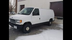 E-250 van for sale for trade