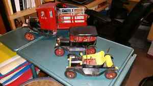 Unique Vintage Hand Made Toy Cars & Trucks, Model A, T, Train London Ontario image 1