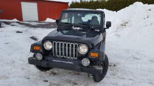 2005 Jeep TJ Sport ($3800)