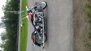 custumized softail