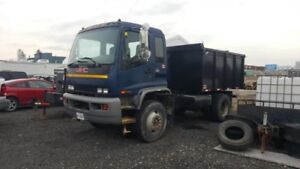 2002 GMC cab over with Cat Diesel and NEW DUMP BOX Selling Cert