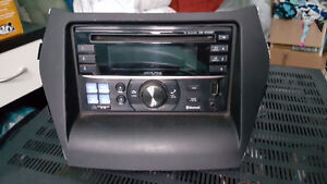 Alpine deck/ type S component speakers/ 4 channel amp