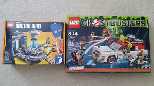 LEGO BNISB Idea Sets on Sale (Ghost Buster and Doctor Who)
