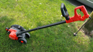 Black & Decker Edge Hog Perfect Lawn Trimmer - WOW!