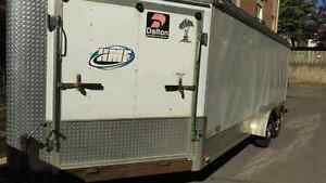 23' V NOSE ENCLOSED TRAILER