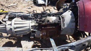 2003 RAM 2500 NV4500 5 SPEED TRANSMISSION AND TRANSFER CASE