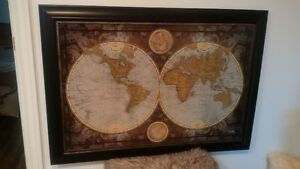 Print of Old World Map
