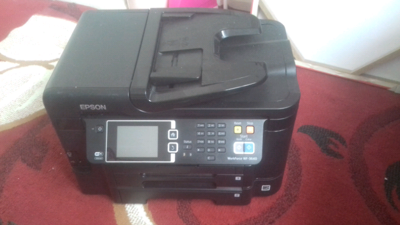 Epson Wifi Wf 3640 + FREE CANNON PRINTER   in Coventry, West Midlands    Gumtree