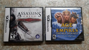 Age of Empires and Assassin's Creed for DS