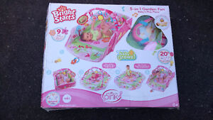 50%OFF- Bright Starts Baby's Playplace Deluxe Edition in Box New