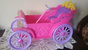 Carosse royal de princesse barbie