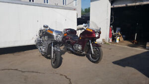 Moto Goldwing  Aspencade 1982 et Interstate 1982