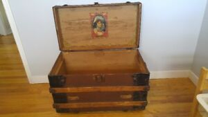 Vintage/Antique Steamer Trunk