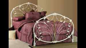 Wrought Iron Bed Frame, Double Size