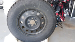 $450 or reasonable offer.  18 inch winter tires for light  truck