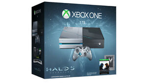 Ensemble Xbox One Halo 5: Guardians édition 1 TB / 1 TO 370$