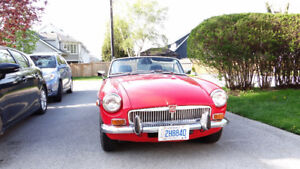 Classic 1972 MG MGB Convertible *MINT CONDITION* With overdrive