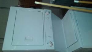 Fri sugar stackable washer and dryer