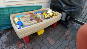 $30.00 Sand and Water Table with toys