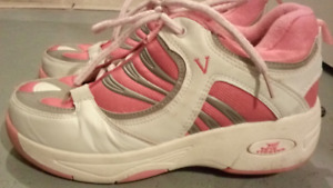 Heelys Skate Gym Shoes White & pink