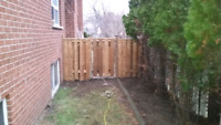 Wood gate repairs or new installation