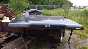 Short bed tono cover for full side truck London Ontario image 2