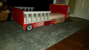 Toddler bed - Fire Truck