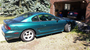 1996 Ford Mustang GT Coupe (2 door) / V8 4.6L PI swap / 5 speed
