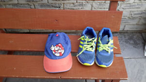 Boy's  Adidas Size 5.5 Sneakers