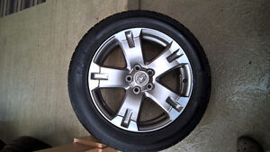 TOYOTA RAV4 RIMS AND TIRES 18 INCH EXCELLENT CONDITION