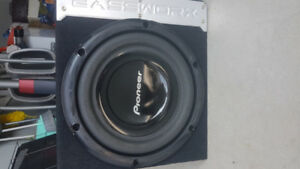 10 INCHES SUBWOOFER PIONEER