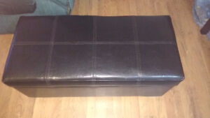 """Ottoman with built in storage 38""""L 18""""W 18""""H"""