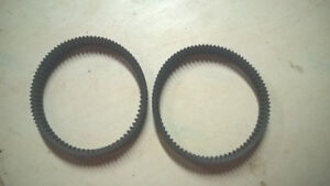 2 BMW C650gt/C600 Drive Belt for CVT
