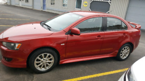 2010 Mitsubishi Lancer 1 owner and newly inspected
